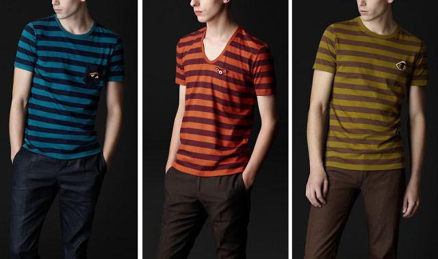 Stripe-T-Shirt-by-Burberry-as-Men-Fashion-Tops